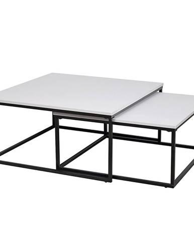 Kastler Typ 1 konferenčný stolík (2 ks) čierna