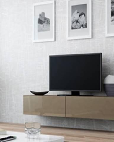 Vigo 140 tv stolík na stenu latte