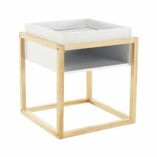 Hagan príručný stolík biela