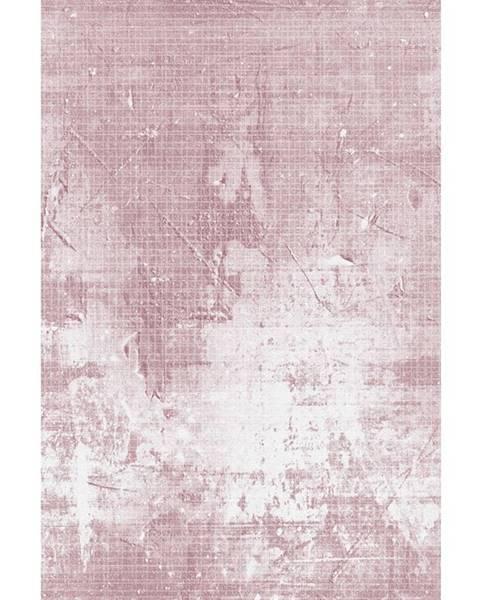 Kondela Marion Typ 3 koberec 80x150 cm ružová