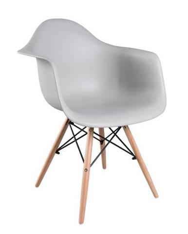 Damen New jedálenská stolička sivá