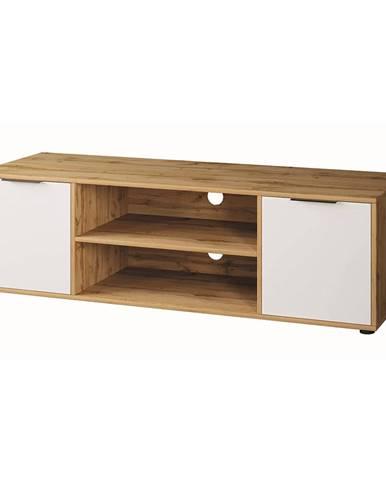 Neston TV-E-2D tv stolík biela