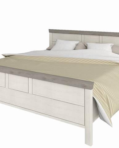 Orentano 180 manželská posteľ s roštom pino aurelio