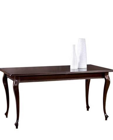 Verona V-4 rustikálny rozkladací jedálenský stôl hnedá