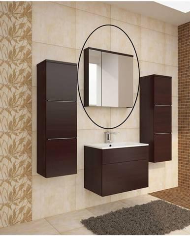 Mason WE 14 kúpeľňová skrinka na stenu so zrkadlom wenge