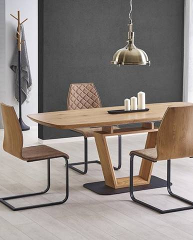 Blacky rozkladací jedálenský stôl dub zlatý