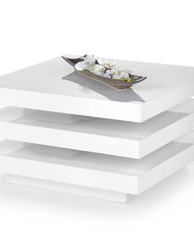 Ingrid konferenčný stolík biely lesk