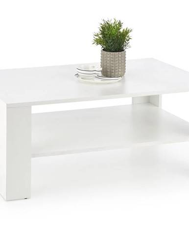 Kwadro konferenčný stolík biela