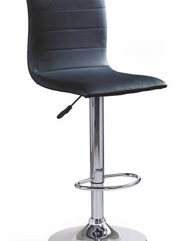 H-21 barová stolička čierna