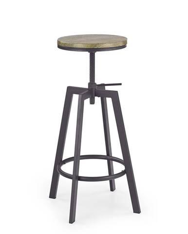 H-64 barová stolička coffee-old vasion
