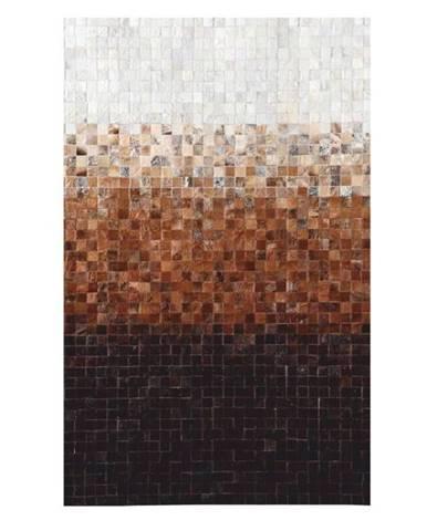 Typ 7 kožený koberec 120x180 cm vzor patchwork