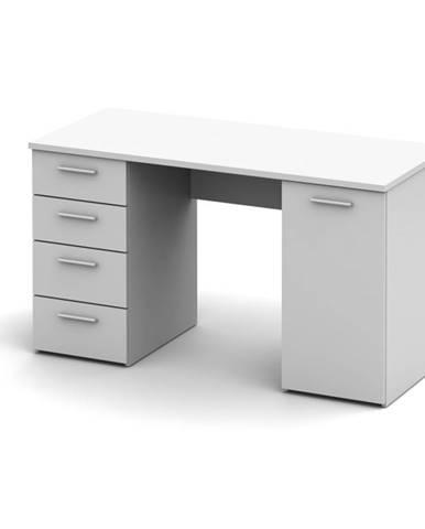 Eustach pc stolík biela