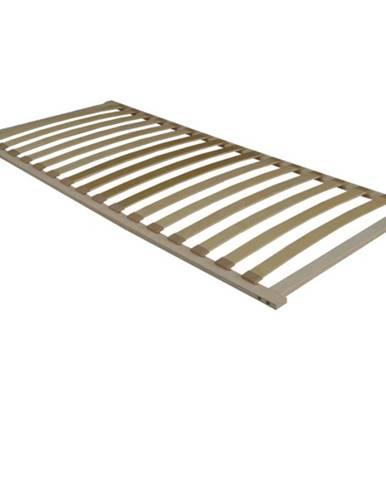 Flex 3-zónový lamelový rošt 160x200 cm brezové drevo