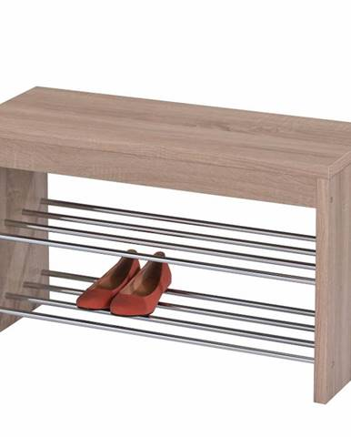 Lusia botník s lavicou dub sonoma