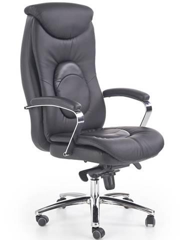 Quad kancelárske kreslo s podrúčkami čierna