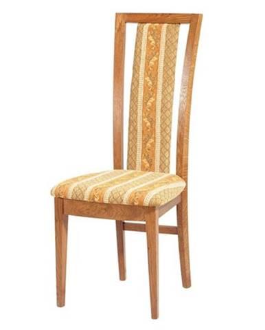 Trapez jedálenská stolička drevo D3