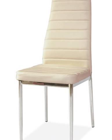 H-261 jedálenská stolička krémová