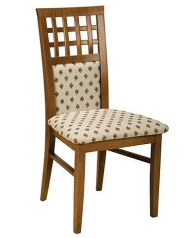 Kratka jedálenská stolička drevo D3