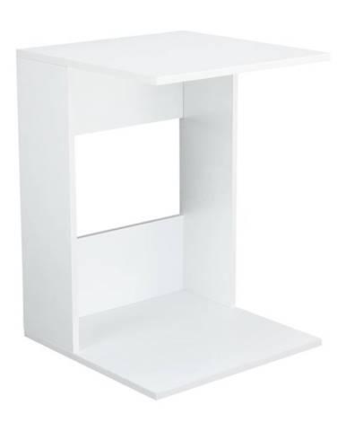 Zenor príručný stolík biela