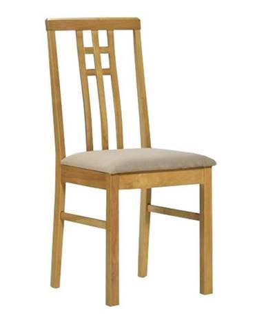 Silas jedálenská stolička dub sonoma