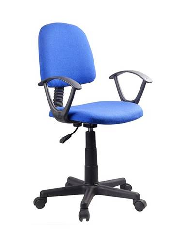Tamson kancelárska stolička s podrúčkami modrá