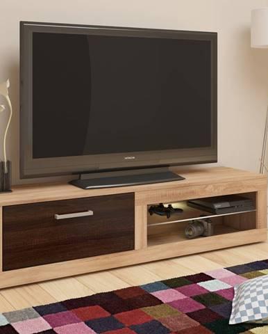 Viki New tv stolík sonoma svetlá