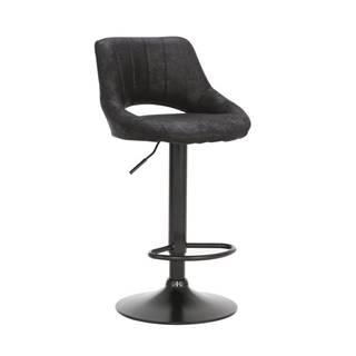 Lorasa barová stolička čierna