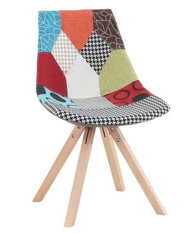Kima Typ 1 New jedálenská stolička vzor patchwork