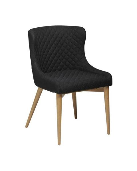 DAN-FORM Denmark Čierna jedálenská stolička DAN-FORM Denmark Vetro