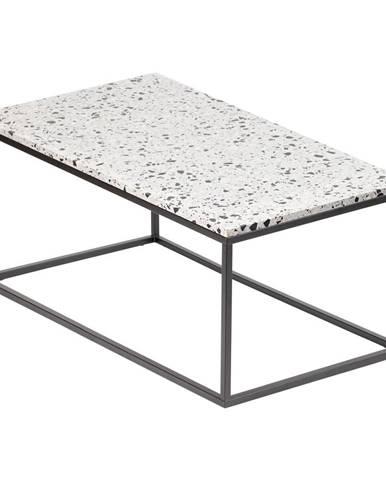Konferenčný stolík s kamennou doskou RGE Cosmos, dĺžka 110 cm