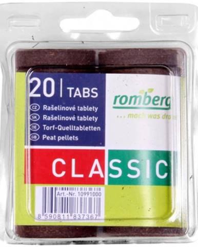 Romberg tableta rašelinová d36mm 20ks