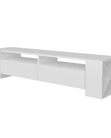 Televízny stolík SOSRUKO biela