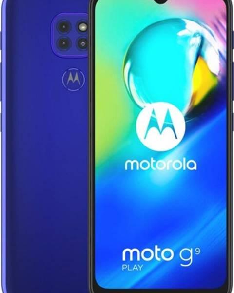 Motorola Mobilný telefón Motorola G9 Play 4 GB/64 GB, modrý
