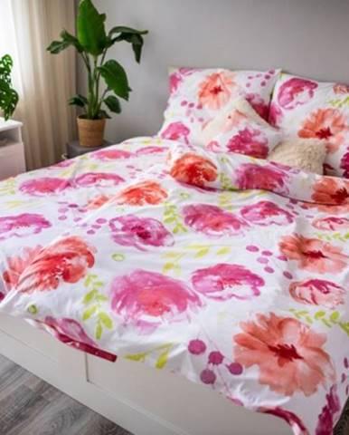 Obliečky Flores pink