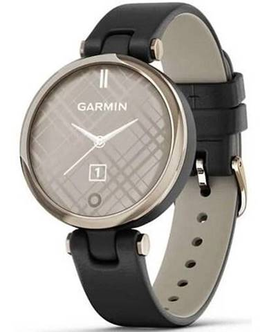 Inteligentné hodinky Garmin Lily Classic Cream Gold/Black Leather