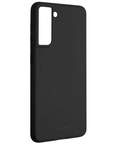 Kryt na mobil Fixed Story na Samsung Galaxy S21 5G čierny