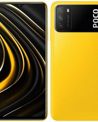 Mobilný telefón Poco M3 128 GB žltý