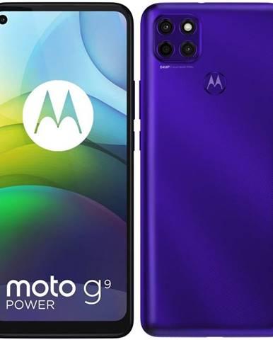 Mobilný telefón Motorola Moto G9 Power - Electric Violet