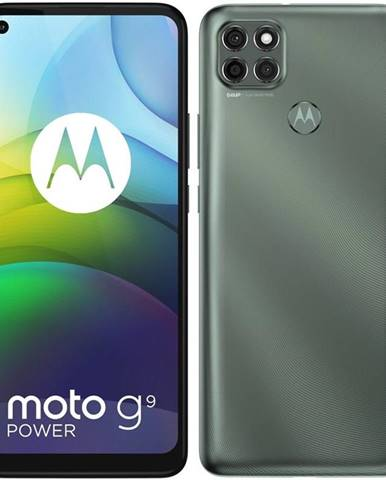Mobilný telefón Motorola Moto G9 Power - Metallic Sage