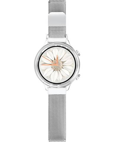 Inteligentné hodinky Aligator Lady Watch strieborné