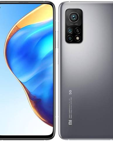 Mobilný telefón Xiaomi Mi 10T Pro 256 GB 5G - Lunar Silver