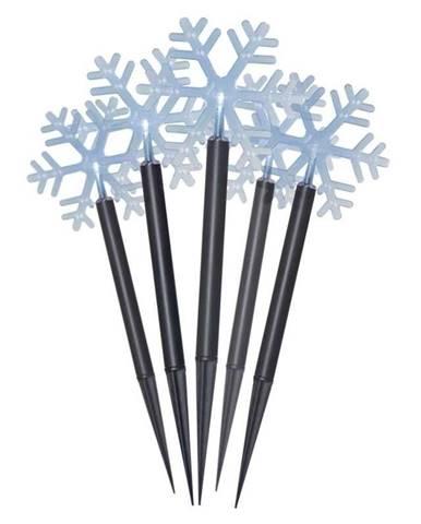 LED dekorace  Emos vánoční vločky, 30cm, venkovní, studená bílá,