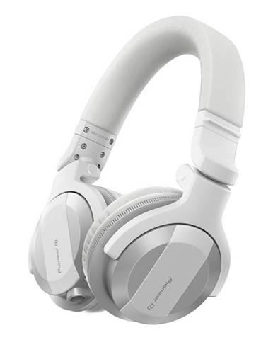 Slúchadlá Pioneer DJ HDJ-Cue1bt-W biela