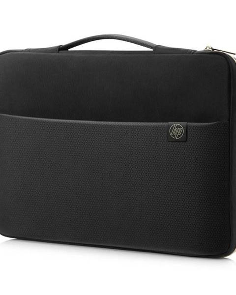 "HP Puzdro na notebook HP Carry Sleeve 15,6"" čierne/zlaté"