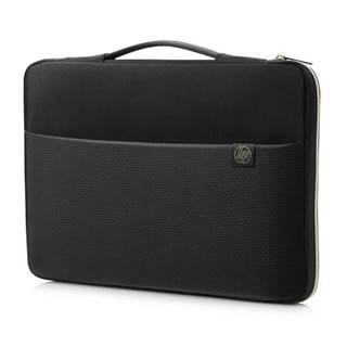 "Puzdro na notebook HP Carry Sleeve 15,6"" čierne/zlaté"