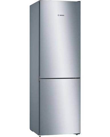 Kombinácia chladničky s mrazničkou Bosch Série 4 Kgn36vlec nerez
