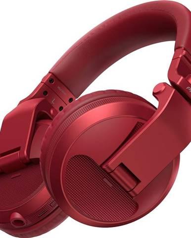 Slúchadlá Pioneer DJ HDJ-X5BT-R červená