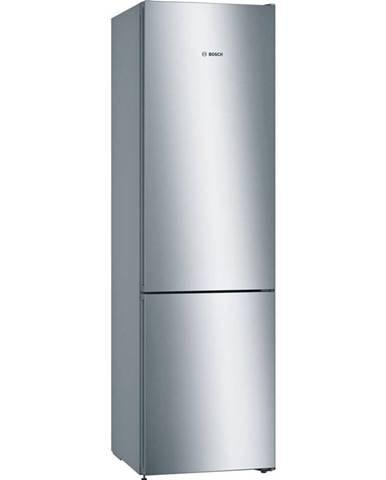 Kombinácia chladničky s mrazničkou Bosch Serie   4 Kgn39vlea nerez