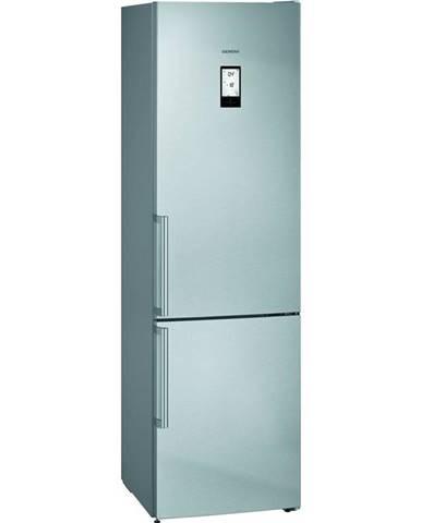 Kombinácia chladničky s mrazničkou Siemens iQ500 Kg39naieq nerez
