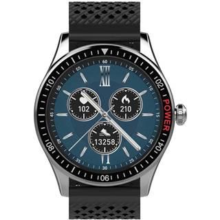 Inteligentné hodinky Carneo Prime GTR man čierne/strieborné